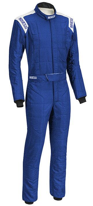 送料無料 SPARCO スパルコ レーシングスーツ CONQUEST-R506 コンクエスト (ブルー/ホワイト) FIA公認【店頭受取対応商品】
