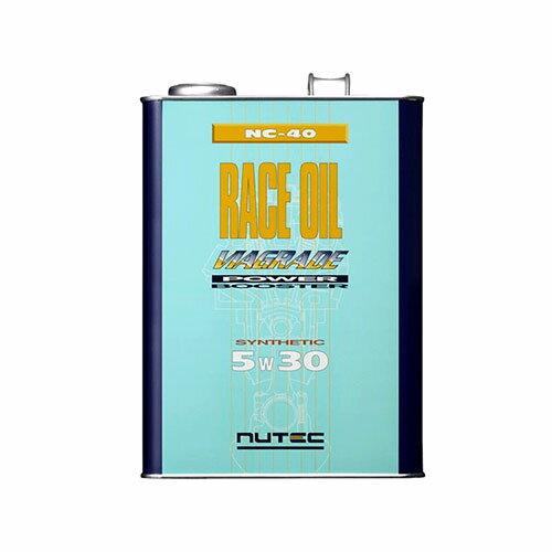 NUTEC ニューテック100%化学合成レースオイル 5W304L缶 NAエンジン用 API:SJ/CF 【NC-40】