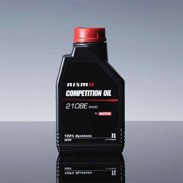 [NISMO] ニスモ エンジンオイル 2108E (0W30) 1L×6缶 (1ケース) COMPETITION OIL MOTUL