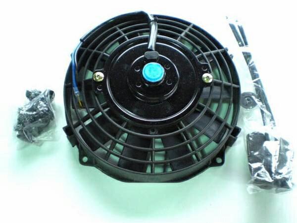 薄型電動ファン [7インチ] プル式 (吸風式)