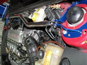 カワイ製作所≪ストラットバー[フロント](PG-Type)≫【ALFA-GTV[916C]V6,3.0エンジン車】アルファロメオ