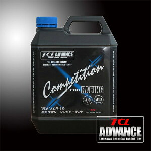 "[TCL ADVANCE] クーラント ""Competition"" for Racing 1本【20L】"