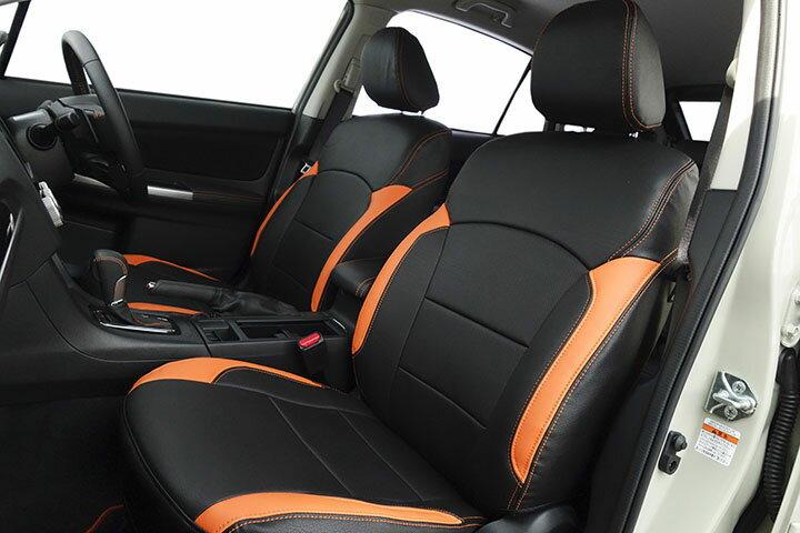 Auto wear オートウェア シートカバー スバルXV専用デザイン ブラック + オレンジ XV GP7 2012年10月〜2017年05月 2.0i / 2.0i-L / 2.0i-L EyeSight