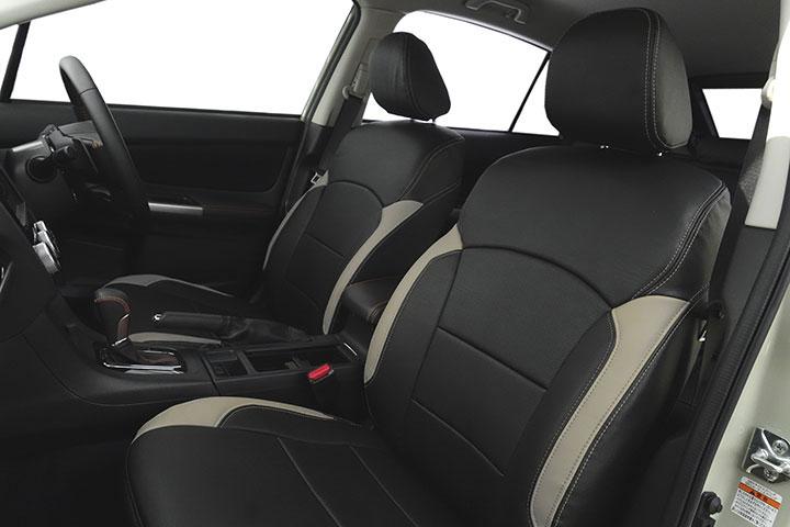 Auto wear オートウェア シートカバー スバルXV専用デザイン ブラック + サンドグレー XV GP7 2012年10月〜2017年05月 2.0i / 2.0i-L / 2.0i-L EyeSight