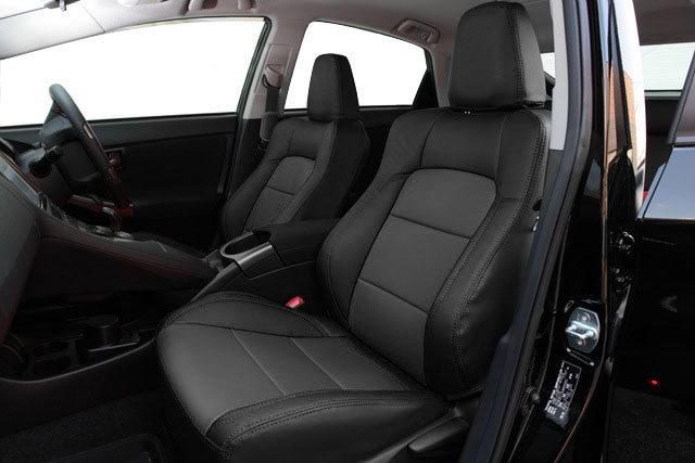 Auto wear オートウェア シートカバー プリウス30系 G's専用デザイン ブラック プリウス ZVW30 2011年12月〜2015年12月 G's