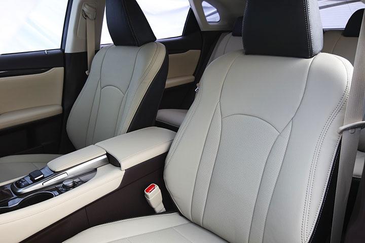 Auto wear オートウェア シートカバー レクサスRX20系専用デザイン サンドグレー + ブラック RX AGL20W AGL25W GYL20W GYL25W GYL26W 2015年11月〜 RX450h / RX200t