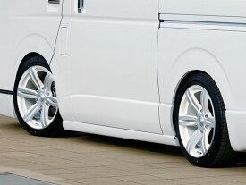 415 COBRA CLEAN LOOK サイドステップ ハイエース 200系 標準/ワイドボディ共通 個人宅配送不可 沖縄・離島は要確認