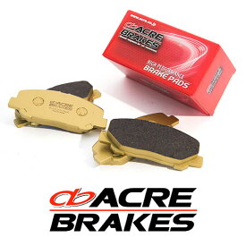 ACRE アクレ ブレーキパッド ダストレスリアル リア用 プジョー 306 ハッチバック 2.0 カブリオレ N3C 94.8〜97.8
