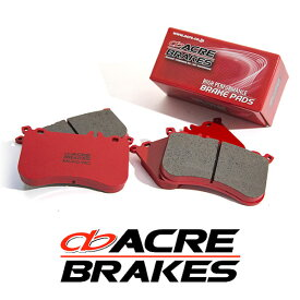 ACRE アクレ ブレーキパッド レーシングプロ フロント用 プジョー 306 ハッチバック 2.0 カブリオレ N3C 94.8〜97.8