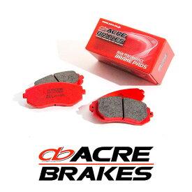 ACRE アクレ ブレーキパッド ZZC フロント用 プジョー 306 ハッチバック 2.0 カブリオレ N3C 94.8〜97.8
