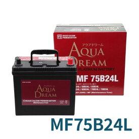 AUQA DREAM カーバッテリー 充電制御車対応 AD-MF75B24L 適合型式 [46B24L 50B24L 55B24L 60B24L 65B24L 70B24L] 高性能 シールド型メンテナンスフリー 沖縄・離島は配送不可