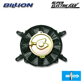 BILLION ビリオン スーパーエレクトリックファン 8インチ プッシュタイプ