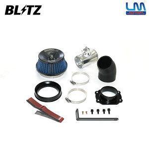 BLITZ ブリッツ サスパワー コアタイプLM ブルー エアクリーナー エクリプスクロス GK1W 18/03〜 4B40