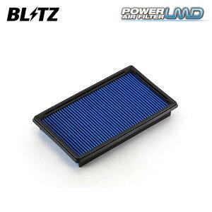 BLITZ ブリッツ パワー エアフィルター LMD DN-27B 59556 デリカD:3 BM20 11/10〜 HR16DE