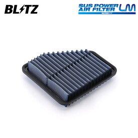 BLITZ ブリッツ サスパワー エアフィルター LM ST-54B 59575 ヴェルファイア ANH20W ANH25W GGH20W GGH25W 08/05〜15/01 2AZ-FE/2GR-FE