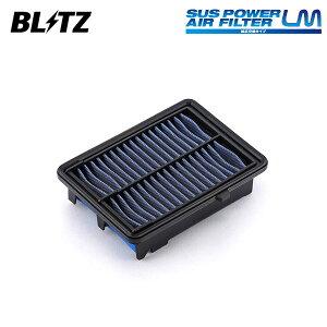 [BLITZ] ブリッツ サスパワー エアフィルター LM SH-697B 59613 フィット GK5 GK6 13/09〜 L15B