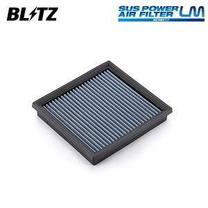 BLITZ ブリッツ サスパワー エアフィルター LM WF-50B 59625 インプレッサスポーツ GT2 GT3 GT6 GT7 16/10〜 FB16/FB20