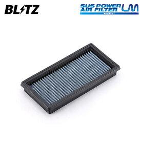 [BLITZ] ブリッツ サスパワー エアフィルター LM WN-235B 59629 ノートニスモ E12改 14/10〜 HR16DE