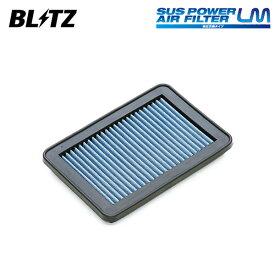 BLITZ ブリッツ サスパワー エアフィルター LM WH-703B 59634 N-VAN JJ1 JJ2 18/07〜 S07B(NA)
