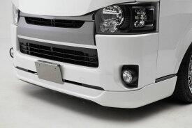 CRS ESSEX ナロー4型用 フロントリップスポイラーVer.IV ABS製 ホワイトパール(070) ハイエース 200系 2013年12月〜 4型 5型 6型 ナロー(標準)ボディ 北海道・沖縄・離島は要確認
