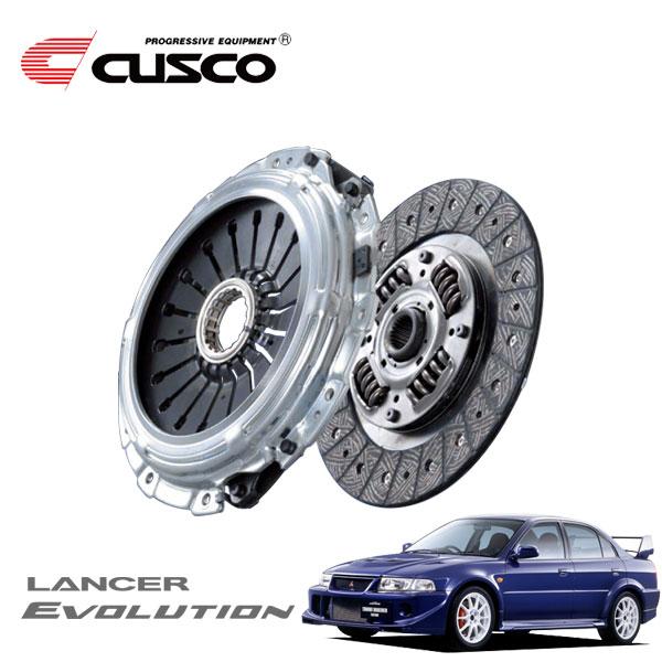 [CUSCO] クスコ カッパーシングルディスク(高圧着タイプ)&クラッチカバーセット ランサーエボリューションVI CP9A 1999年01月〜2001年01月 4G63 2.0T 4WD トミ・マキネンエディション含む