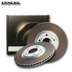 DIXCEL ディクセル ブレーキローター HDタイプ フロント用 パジェロ V25C 94/7〜96/2