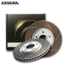 DIXCEL ディクセル ブレーキローター HSタイプ リア用 パジェロ V25C 94/7〜96/2