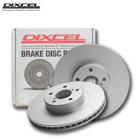 DIXCEL ディクセル ブレーキローター PDタイプ リア フィアット 500/500C/500S チンクチェント 1.4 16V 31214 08/03〜