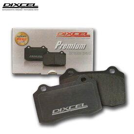 DIXCEL ディクセル ブレーキパッド プレミアムタイプ リア用 アルファロメオ 164 3.0i V6 24V Q4 164K1H/164K1M/164K1C 94/2〜99 ※沖縄・離島・同梱時は送料別途