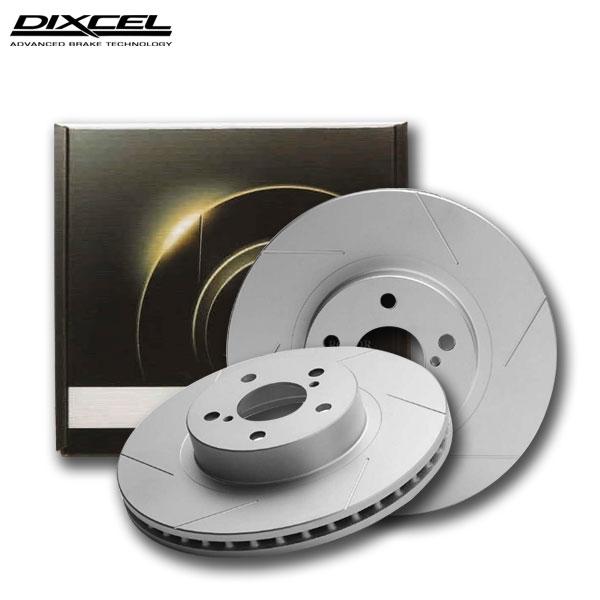 DIXCEL ディクセル ブレーキローター SDタイプ リア プジョー 3008 2.0 ディーゼルターボ P84AH01 17/03〜