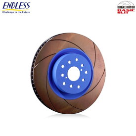 [ENDLESS] エンドレス ブレーキローター BASIC SLIT (ベーシックスリット) フロント用 1枚【ハチロク ZN6 12.4~ GT、GTリミテッド】