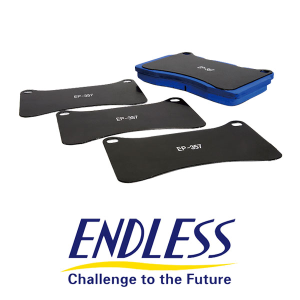 [ENDLESS] エンドレス アンチノイズシム ブレンボキャリパー用 4枚 1セット EPS007