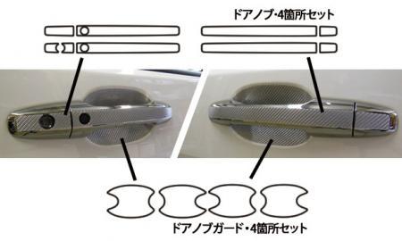 [hasepro] ハセプロ マジカルカーボン ドアノブガード ステップワゴン RP1 RP2 RP3 RP4 2015/4〜