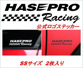 hasepro ハセプロ HASEPRO RACING ロゴステッカー SSサイズ 2枚セット
