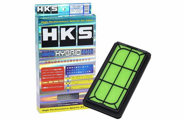 [HKS] スーパーハイブリッドフィルター デイズルークス B21A 14/02〜 3B20(ターボ/NA)