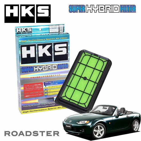 [HKS] スーパーハイブリッドフィルター ロードスター NCEC 05/08〜15/04 LF-VE