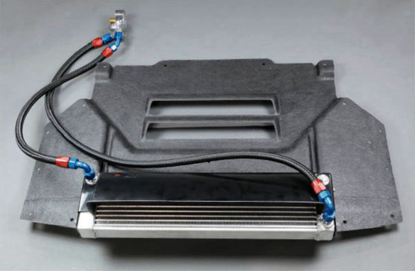 [HPI] サイドタンク式 オイルクーラーキット W5 純正位置 フェアレディZ Z34 08/12〜12/12 アンダーパネルパネル一体型 個人宅配送不可