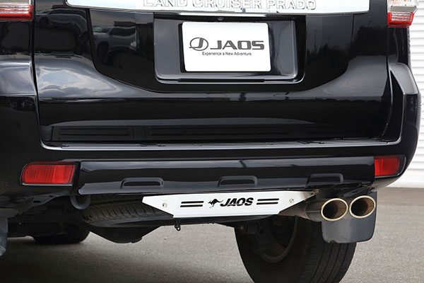 [JAOS] ジャオス リヤスキッドプレート ブラスト プラド 150系 09.09〜 ALL ※代引不可、送料注意