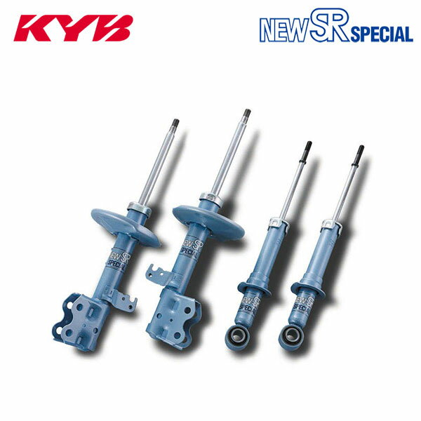 [KYB] カヤバ ショック NEW SR SPECIAL 1台分 4本セット ヴィッツ NSP130 10/12〜14/01 1.3L 1NR-FE FF [F / U / Jewela]