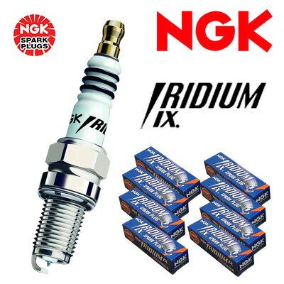 [NGK] イリジウムIXプラグ (1台分セット) 【フォード グラン トリノ [36N] 1971.11〜 7000】