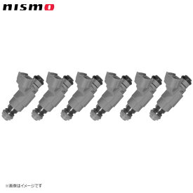 nismo ニスモ 高流量インジェクター トップフィードタイプ 高抵抗 480cc 6本セット(1台分) スカイライン ER34 RB25DE / RB25DET