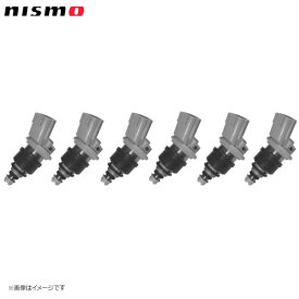nismo ニスモ 高流量インジェクター サイドフィードタイプ 高抵抗 555cc 6本セット(1台分) フェアレディZ Z32 CZ32 VG30DETT('94/10〜'98/10)