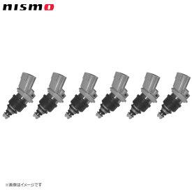 nismo ニスモ 高流量インジェクター サイドフィードタイプ 高抵抗 555cc 6本セット(1台分) ステージア WGC34 WGNC34 RB25DET(〜'98/8)