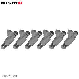 nismo ニスモ 高流量インジェクター トップフィードタイプ 高抵抗 480cc 6本セット(1台分) ステージア WGC34、WGNC34 RB25DET('98/8〜)