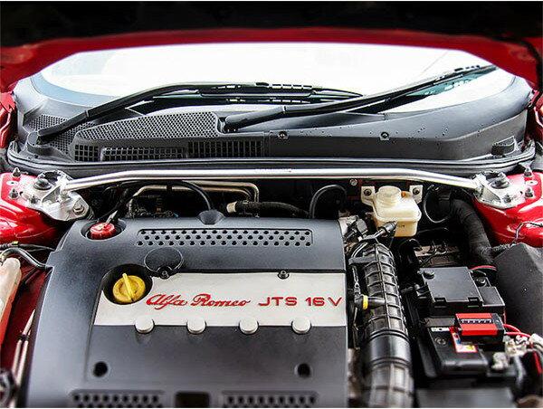 [OKUYAMA] オクヤマ ストラットタワーバー フロント タイプI アルミ製 147 GTA 937AXL ※送料…北海道(4320円)、沖縄・離島(着払い)