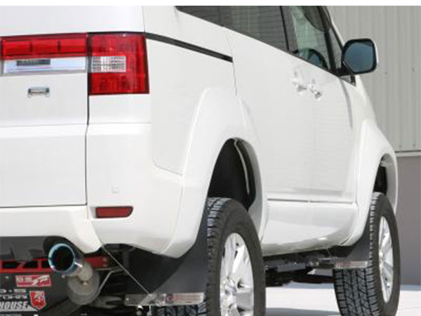 [TGS] モディファイドオーバーフェンダー (塗装無) デリカD:5 CV1W CV2W CV4W CV5W 4WD/2WD ※代引不可 ※送料注意