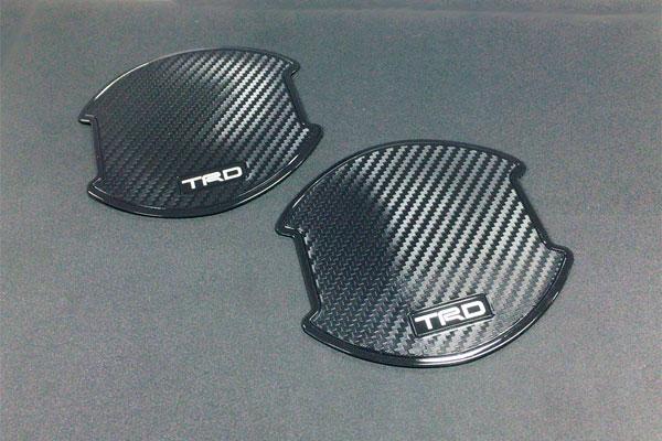 [TRD] ドアハンドルプロテクター 2枚セット ヴォクシー ZRR80W ZRR85W ZWR80W 14/01〜17/06
