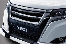 TRD フロントグリル エスクァイア ZRR80G ZRR85G ZWR80G 17/07〜 除くフロントグリル&フロントスポイラー(LED付)、プレミアムホーン(純正用品)付車 ※北海道は送料4860円(税込) 沖縄・離島は要確認