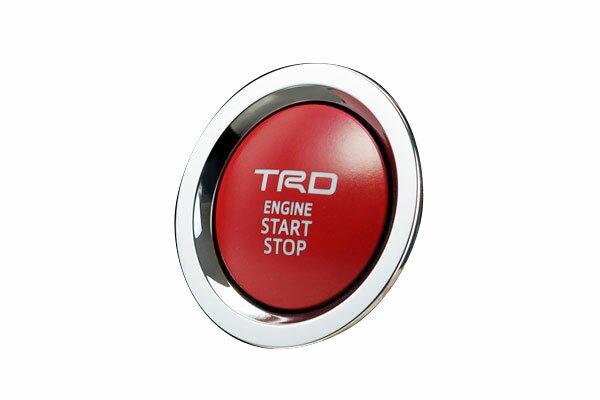 [TRD] プッシュスタートスイッチ ガソリン車(インジケーターランプ無) オーリス NRE185H NZE181H NZE184H ZRE186H 15/04〜 スマートエントリースタートシステム (メーカーオプション)付車