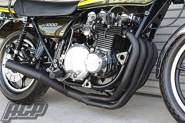 KZ1000 エルサウンド ショート管 (ブラック)